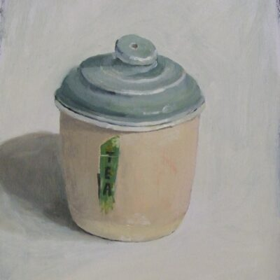 Green tea canister 2020